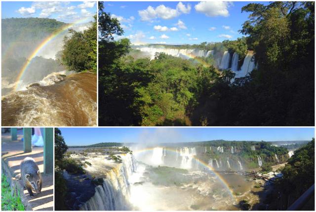 Wodospady Iguacu-Brazylia