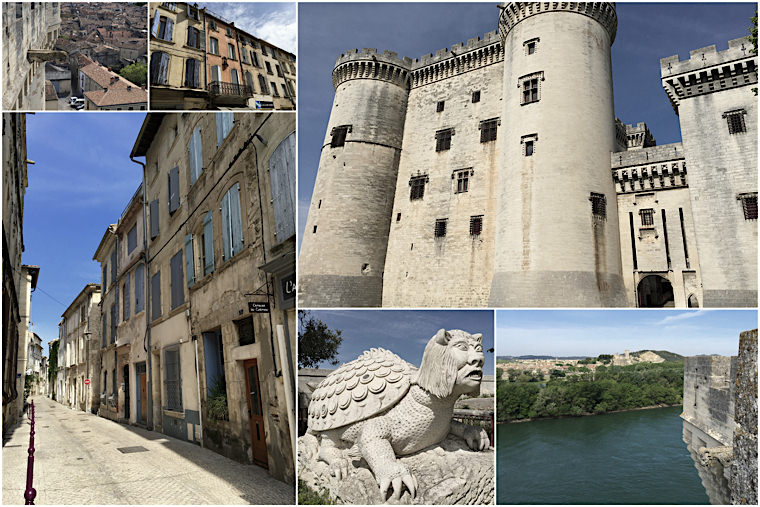 Francja-Tarascon-Zamek-i-Miasteczko