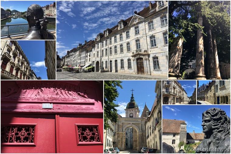 Besancon Francja malownicze francuskie miasteczka zwiedzanie atrakcje Francji