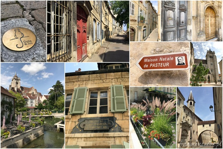 Dole Francja malownicze francuskie miasteczka zwiedzanie atrakcje Francji