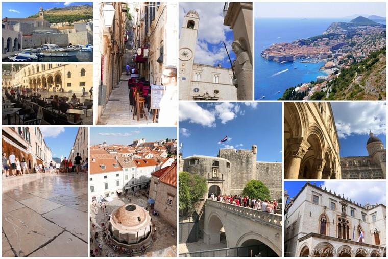 Dubrownik Chorwacja zwiedzanie atrakcje Chorwacji malownicze chorwackie miasteczka