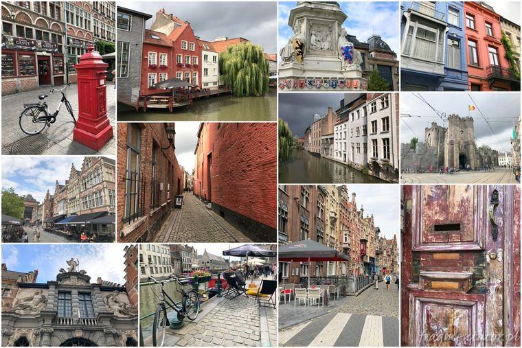 Gandawa Belgia malownicze belgijskie miasteczka zwiedzanie atrakcje Belgii
