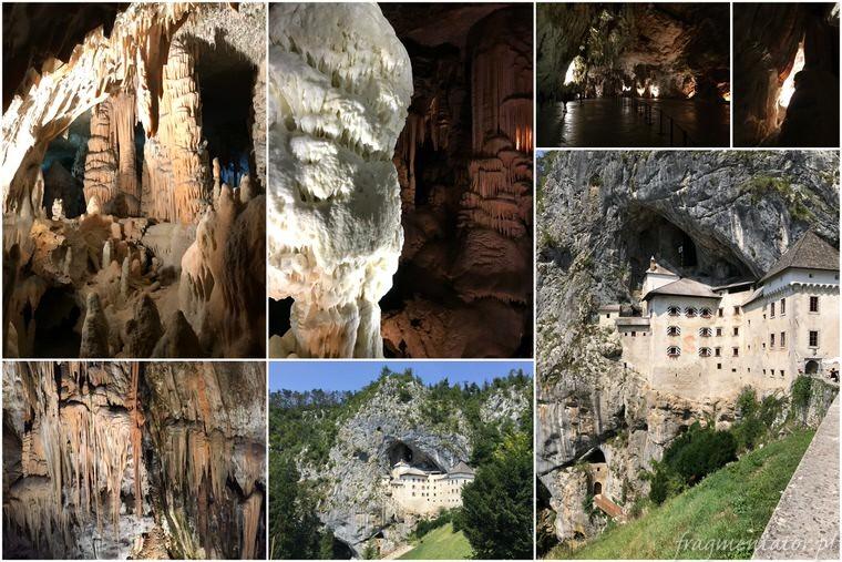Jaskinia Postojna i Predjamski Grad Słowenia zwiedzanie trakcje Słowenii