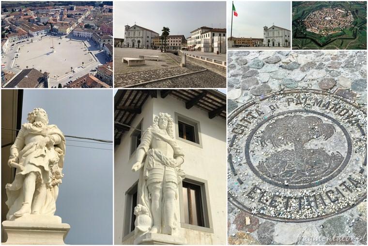 Palmanova Włochy włoskie miasteczka