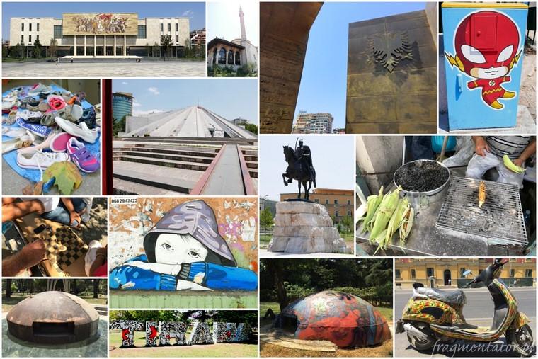 Tirana - stolica Albanii - zwiedzanie