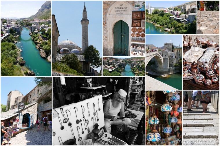 Mostar nieformalna stolica Hercegowiny zwiedzanie Bośni i Hercegowiny malownicze miasteczka