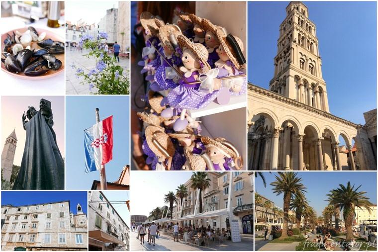 Split Chorwacja zwiedzanie atrakcje Chorwacji malownicze chorwackie miasteczka