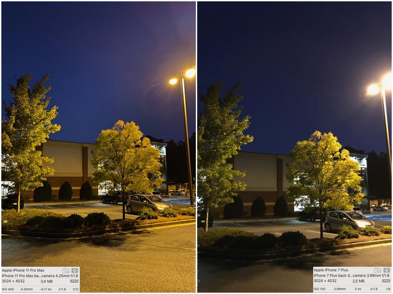 przykładowe zdjęcia tryb nocny night mode iPhone 11 Pro Max photo 03