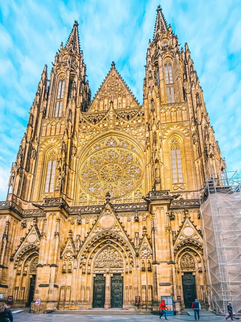 Praga Hradczany Wzgórze Zamkowe Katedra Świętych Wita, Wacława i Wojciecha